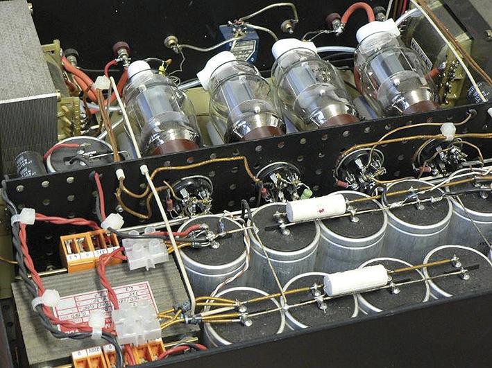 First sample of an 807 power amplifier
